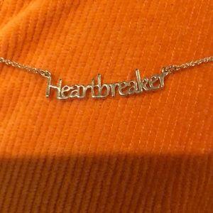 """""""Heartbreaker necklace"""" small chain"""